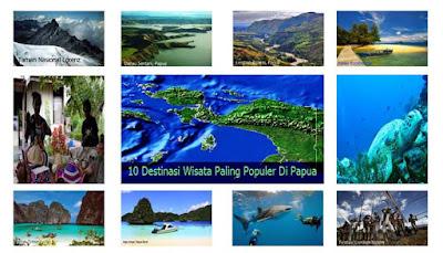 10 Destinasi Wisata Paling Populer Di Papua