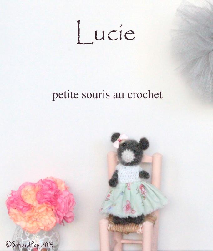 Lucie petite souris au crochet