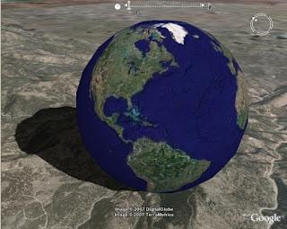 برنامج google earth للايفون و الايباد