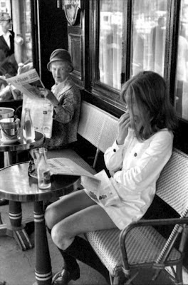 Henri Cartier-Bresson, Brasserie Lipp, 1969