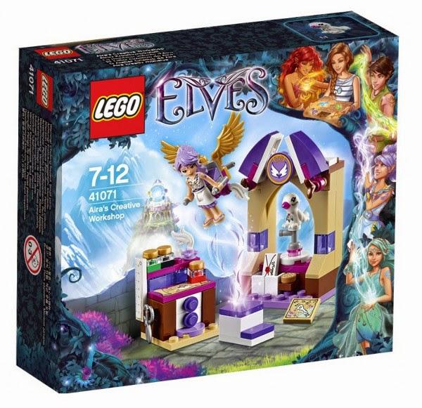 JUGUETES - LEGO Elves  41071 El Taller Creativo de Aira  Producto Oficial 2015 | Edad: 7-12 años