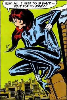 Amazing Spider-Man #86, The Black Widow, John Romita