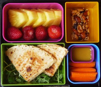 laptop lunches cool kids quesadilla bento. Black Bedroom Furniture Sets. Home Design Ideas