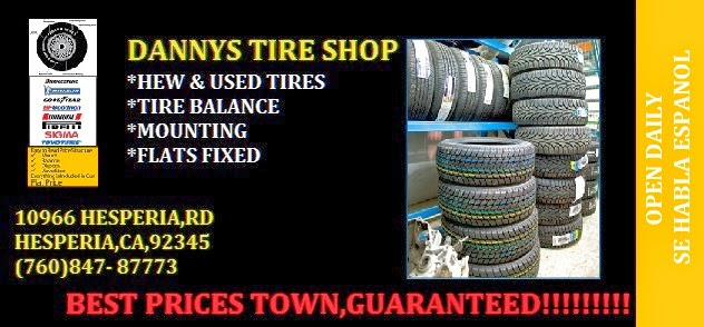 DANNYS TIRE SHOP