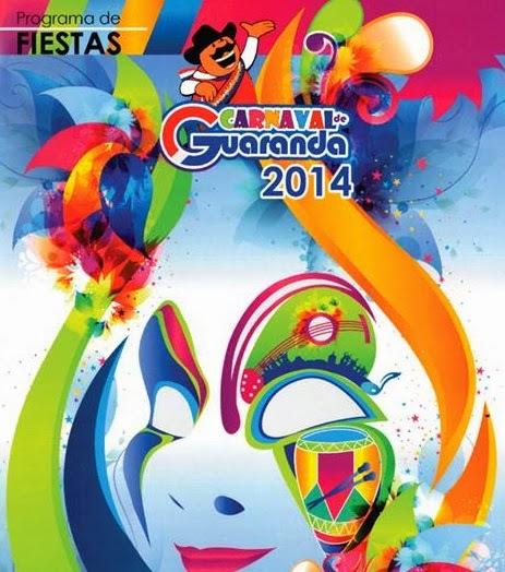 Programa completo fiestas Carnaval de Guaranda 2014