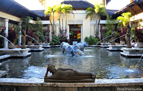 Orchid Court Fountain