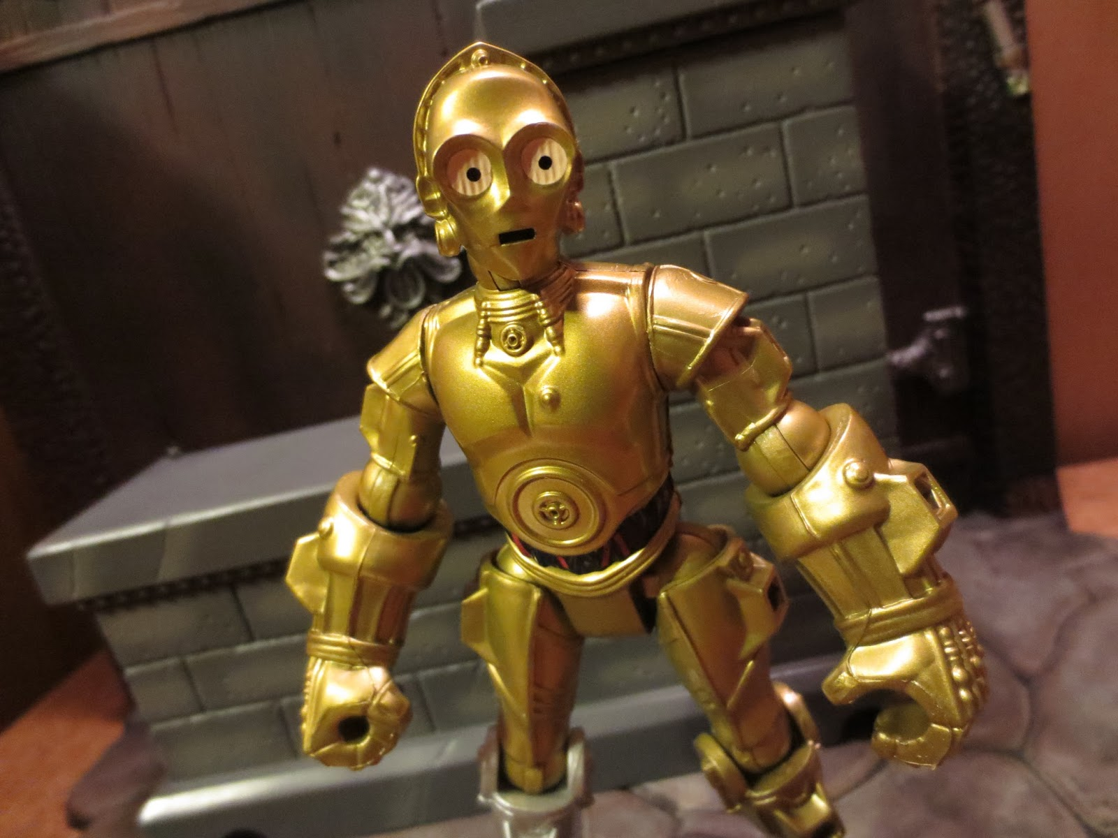 c 3po figurine star wars hero mashers de hasbro. Black Bedroom Furniture Sets. Home Design Ideas