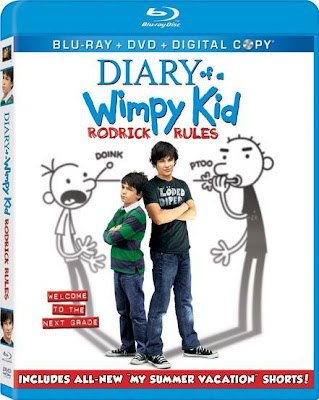Diary of a Wimpy Kid 2 Rodrick Rules (2011) Blu Ray Rip 575 MB movie poster, Diary of a Wimpy Kid 2 Rodrick Rules (2011) Blu Ray Rip 575 MB dvd cover poster, Diary of a Wimpy Kid 2 Rodrick Rules blu ray movie poster