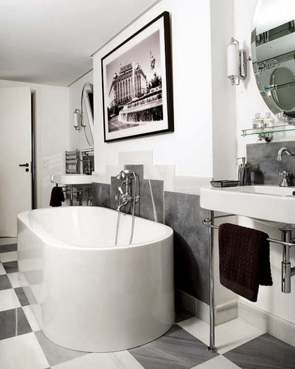 Baños Estilo Art Deco: de Baño con Arte para Relajarte – Art Deco