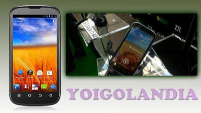 ZTE Grand XM con Yoigo, precios y características