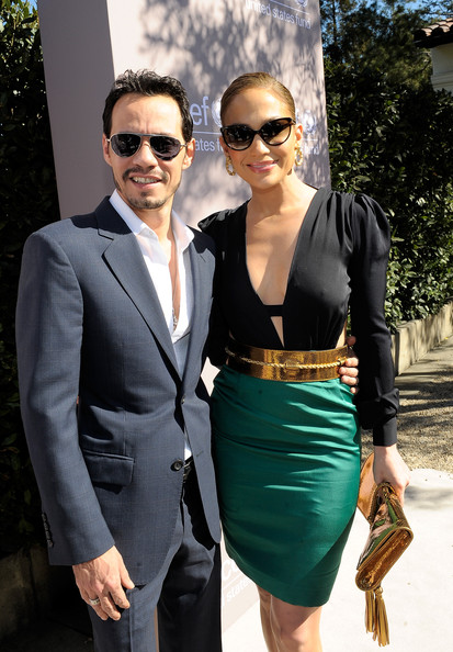 Coupled Up: Jennifer Lopez And Marc Anthony At UNICEF Women Of Compassion Luncheon