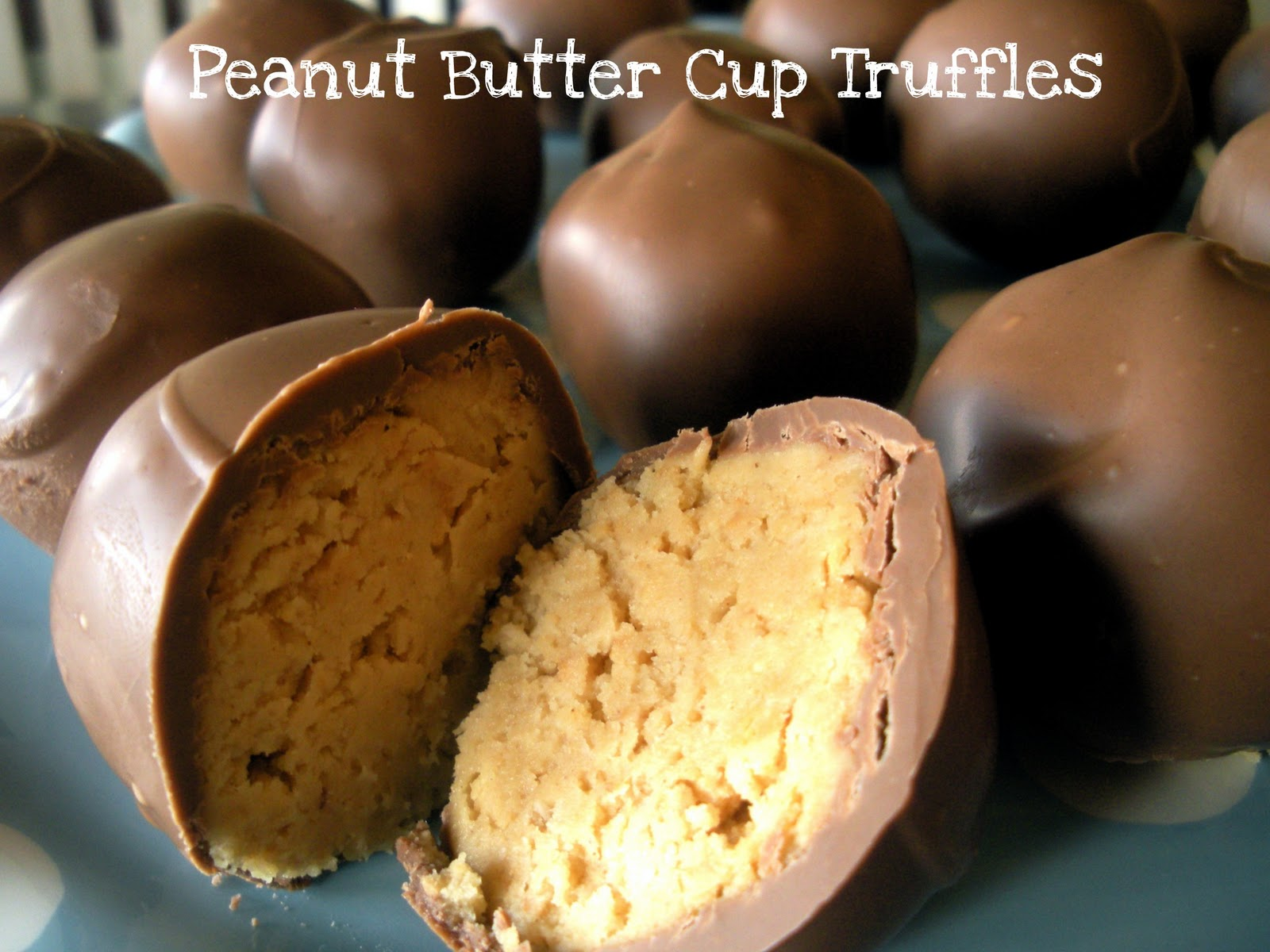 Reese's Peanut Butter Cup Truffles - Sweet Charli