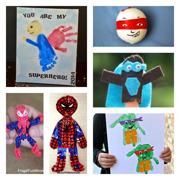 Superhero Ideas for Kids - Messy Little Monster