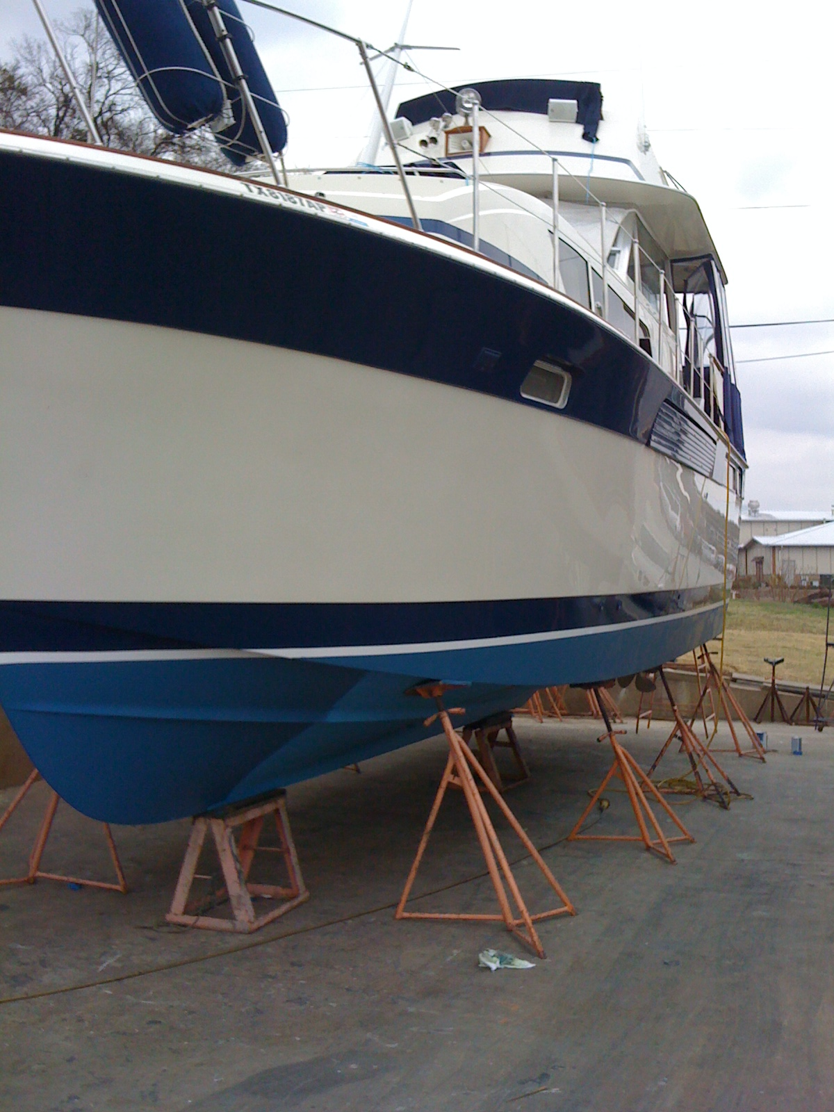 Texoma Chris Craft Classic 1979 Commander For Sale Deck Boat Wiring Diagram Accent Stripes Painted With Awlgrip In 2008 New Bottom Paint 2012 Hull Waxed Every 12 Months Last 3 2013 And Topsides 6 13