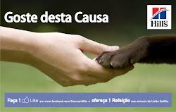 Doacção grátis através de um clic e like / causa portuguesa / Click and then like to help animals