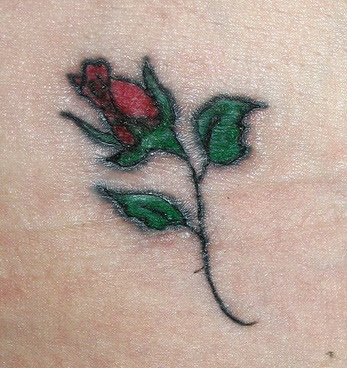 Hip tattoo for girl,uncommon tattoo
