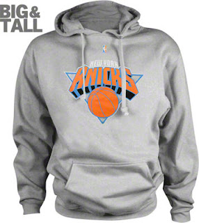 Big and Tall New York Knicks Sweatshirt