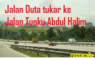 Jalan Tukar Nama Di KL November 2014