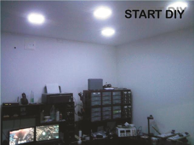Iluminando mi laboratorio con leds