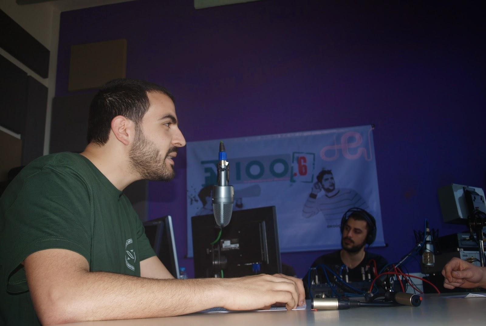 ΝΕΑ ΑΚΡΟΠΟΛΗ - Φιλοσοφία και Hip-Hop Κίνημα στο Δημοτικό Ραδιόφωνο Θεσσαλονίκης 100.6FM