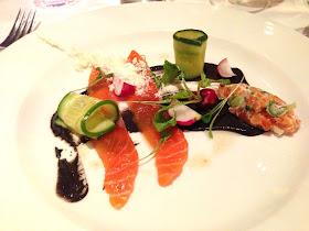 Stitch and Bear - Bang Restaurant - Clare Island salmon