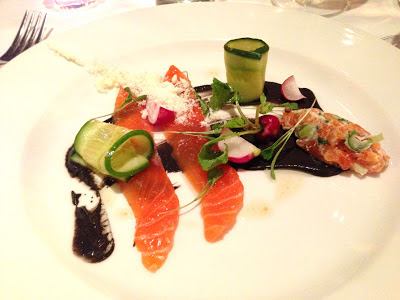 Stitch and Bear - Bang Restaurant - Clare Island salmon