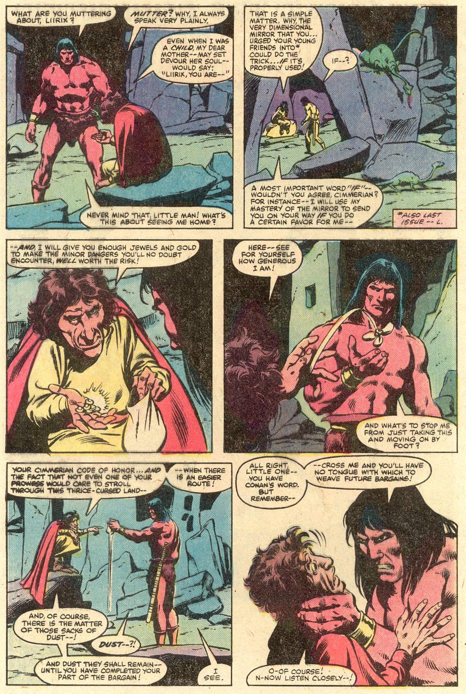Conan the Barbarian (1970) Issue #126 #138 - English 3