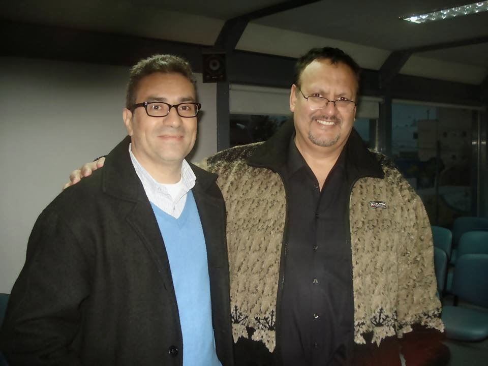 Dr. Uriel Bustamante. Colombia & Prof. Luis Vega Vergara.