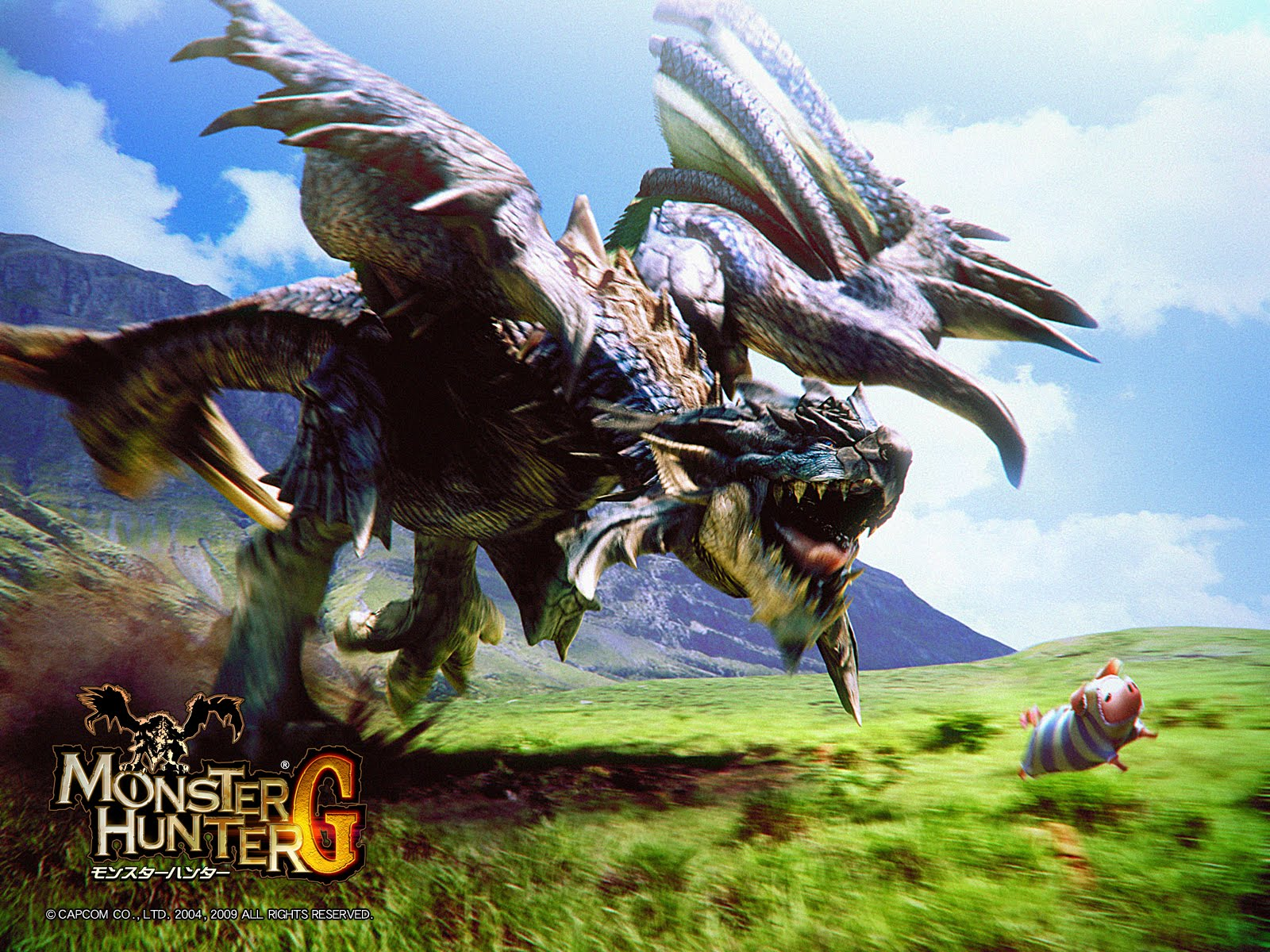 Monster Hunter HD & Widescreen Wallpaper 0.701365382470567