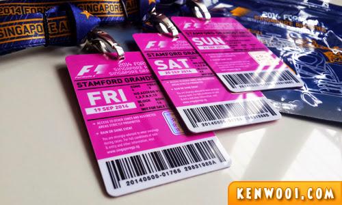 singapore f1 tickets