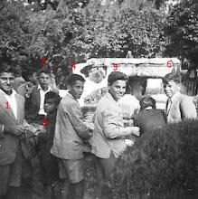 Visita escolar a la Feria de Muestras, Plaza de España y Parque de María Luisa, Año 1953/54