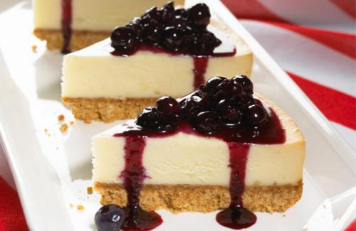 Blueberry Cheesecake Recipe ~ Easy Dessert Recipes