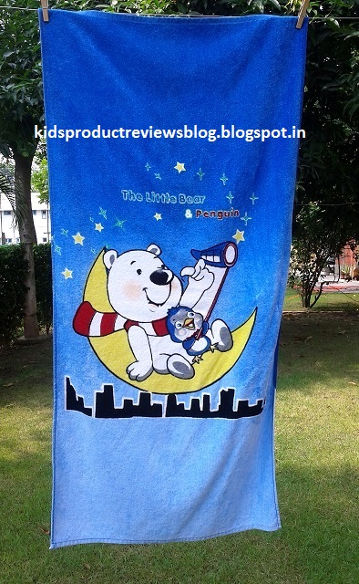 Bombay Dyeing Soft & Cosy Kids Towel India Review
