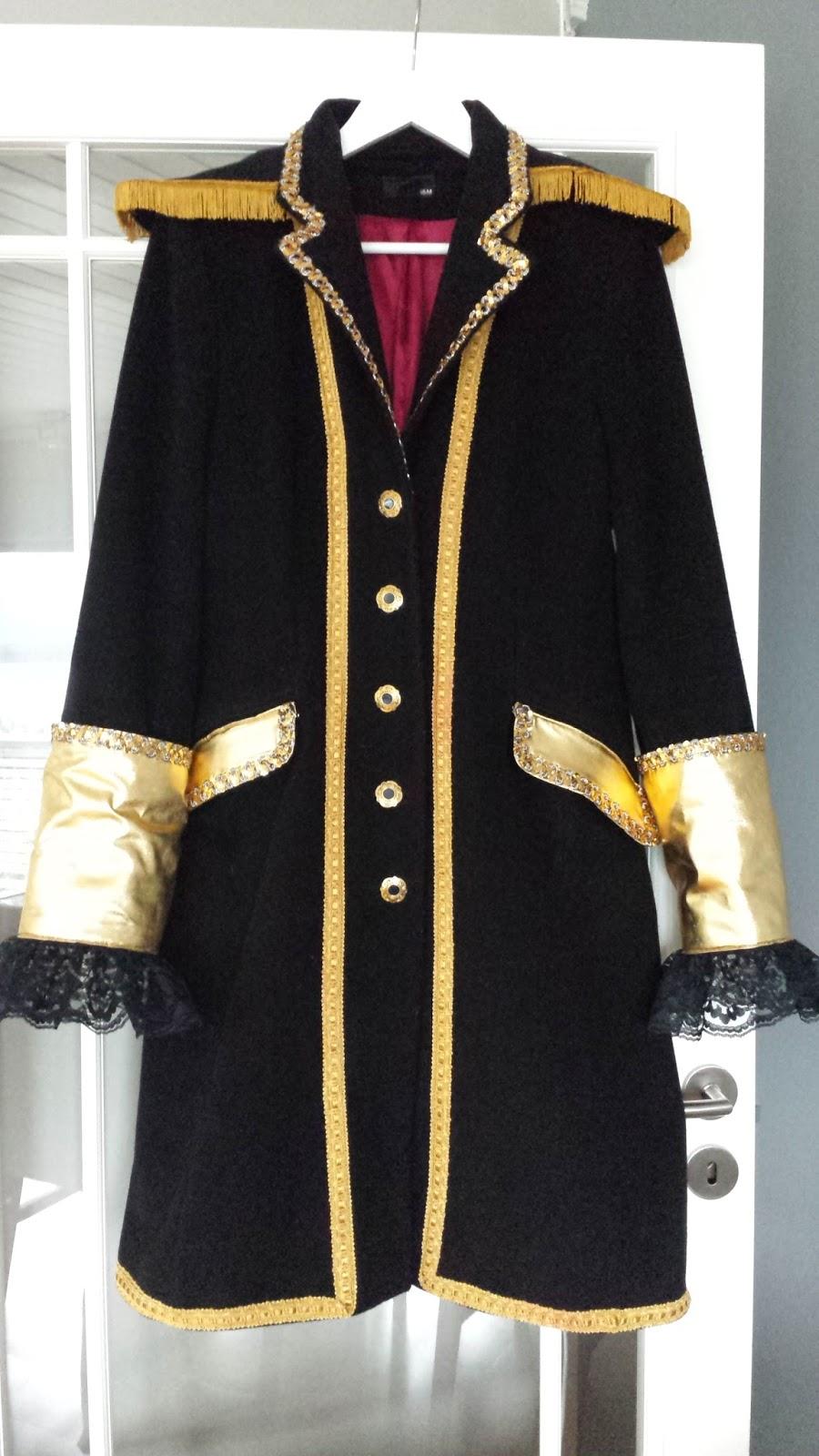 Kaptein sabeltann kostyme voksen