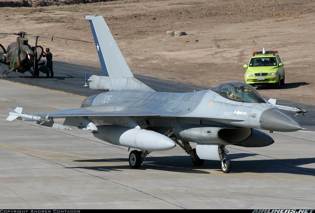 Fuerzas Armadas de Chile Lockheed+Martin+Fokker+F-16AM+Chile+AF