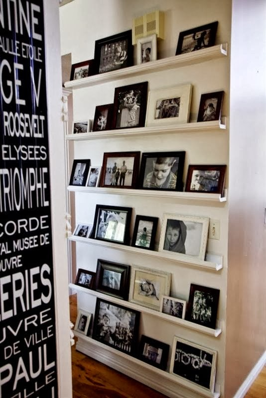 The classy woman the modern guide to becoming a more - Shelving for picture frames ...