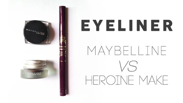 maybelline gel liner heroine make smooth liquid liner review