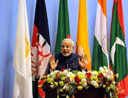 At SAARC Pakistan Recieved Message From PM Of India