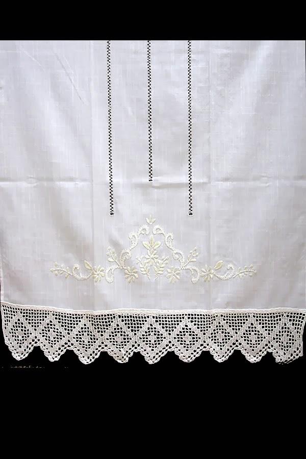 Cortinas r sticas para ventanas decorando tu hogar - Visillos cocina confeccionados ...