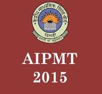 AIPMT Exam 2015