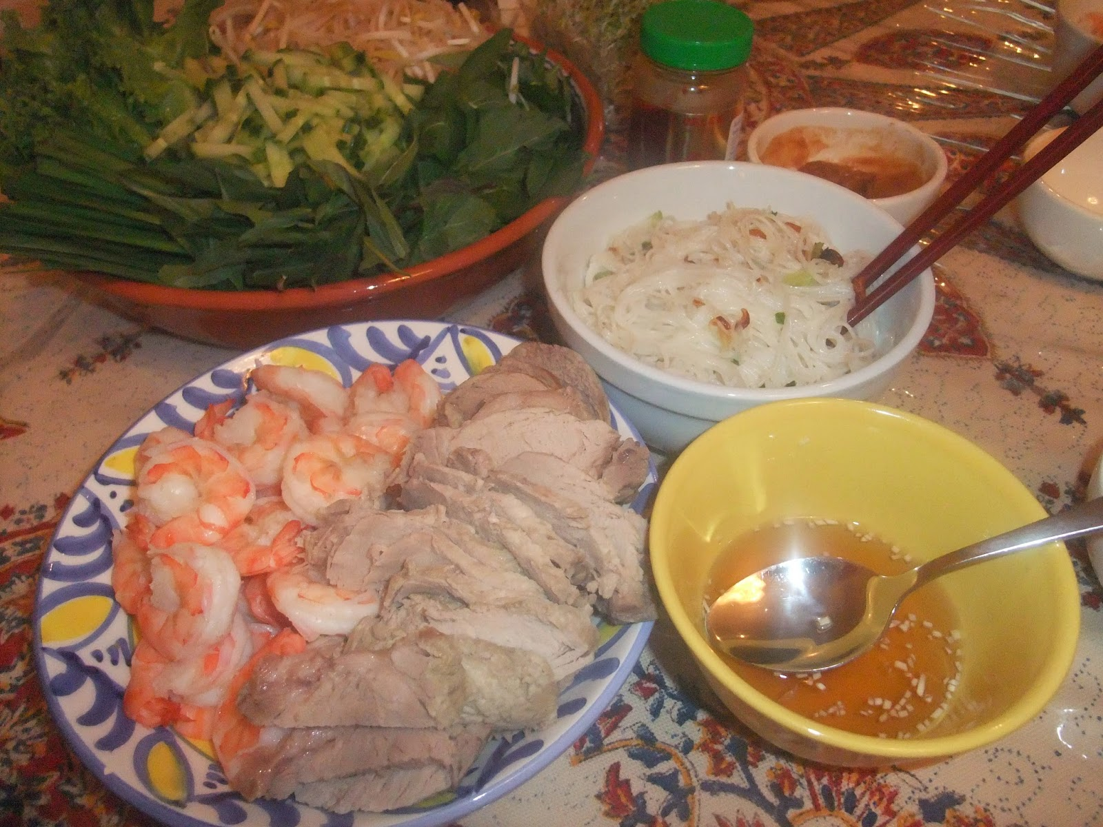 how to make a vietnamese roast pork roll