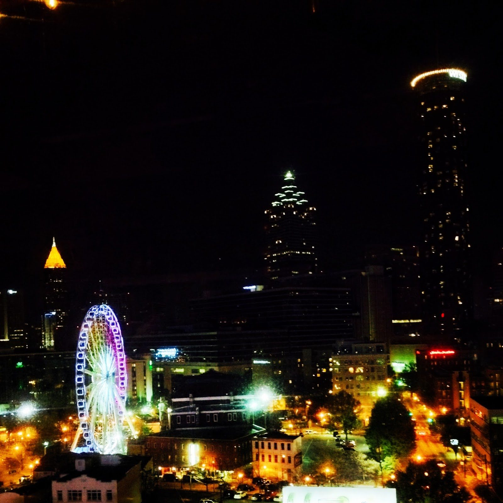 Real College Student of Atlanta: Skylounge at Glenn Hotel and ...