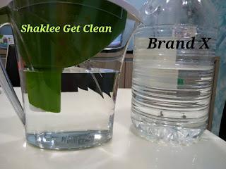 Shaklee Labuan; air bersih; filter air murah dan bangus; filter mineral yang mampu milik