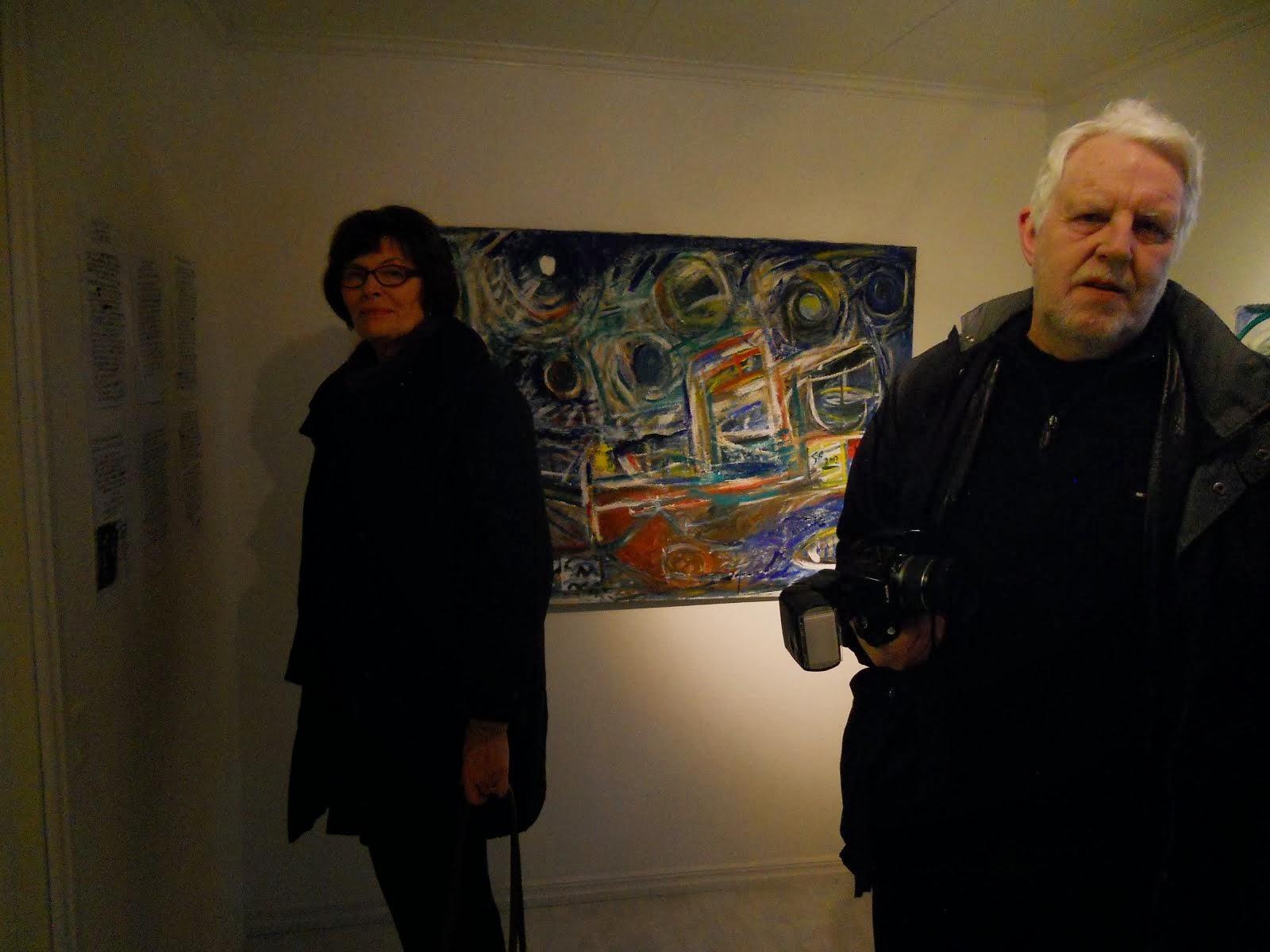 - Utställning Nr 1 - OLJEMÅLNINGAR -  Göte Hultqvist