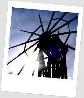 Windmill Garafia La Palma