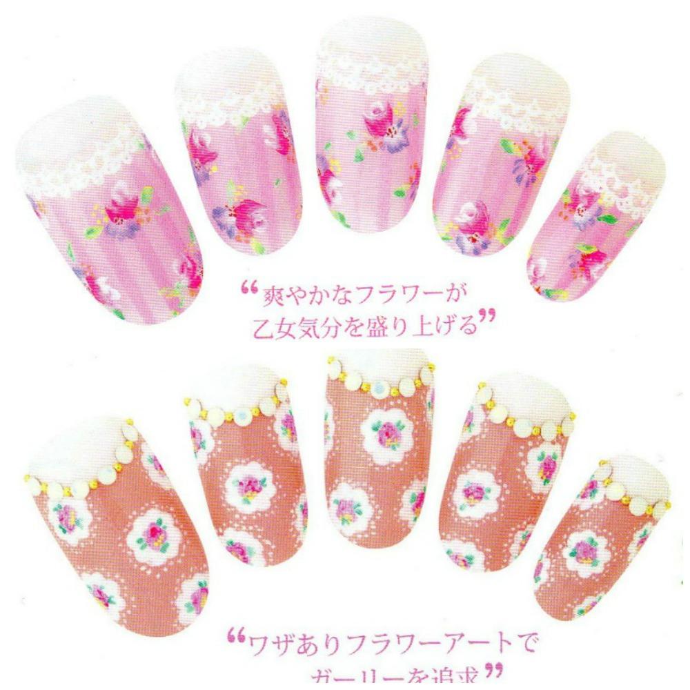 March Nail Inspiration Floral Nails Tutorial Spring Nail Designs