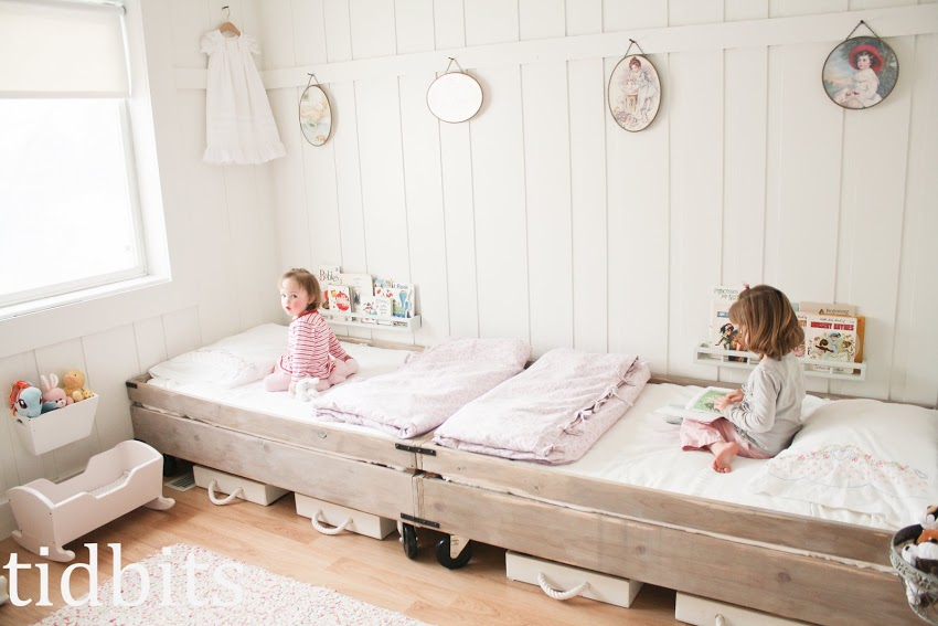 Someday Crafts Small Space Dream Bedroom
