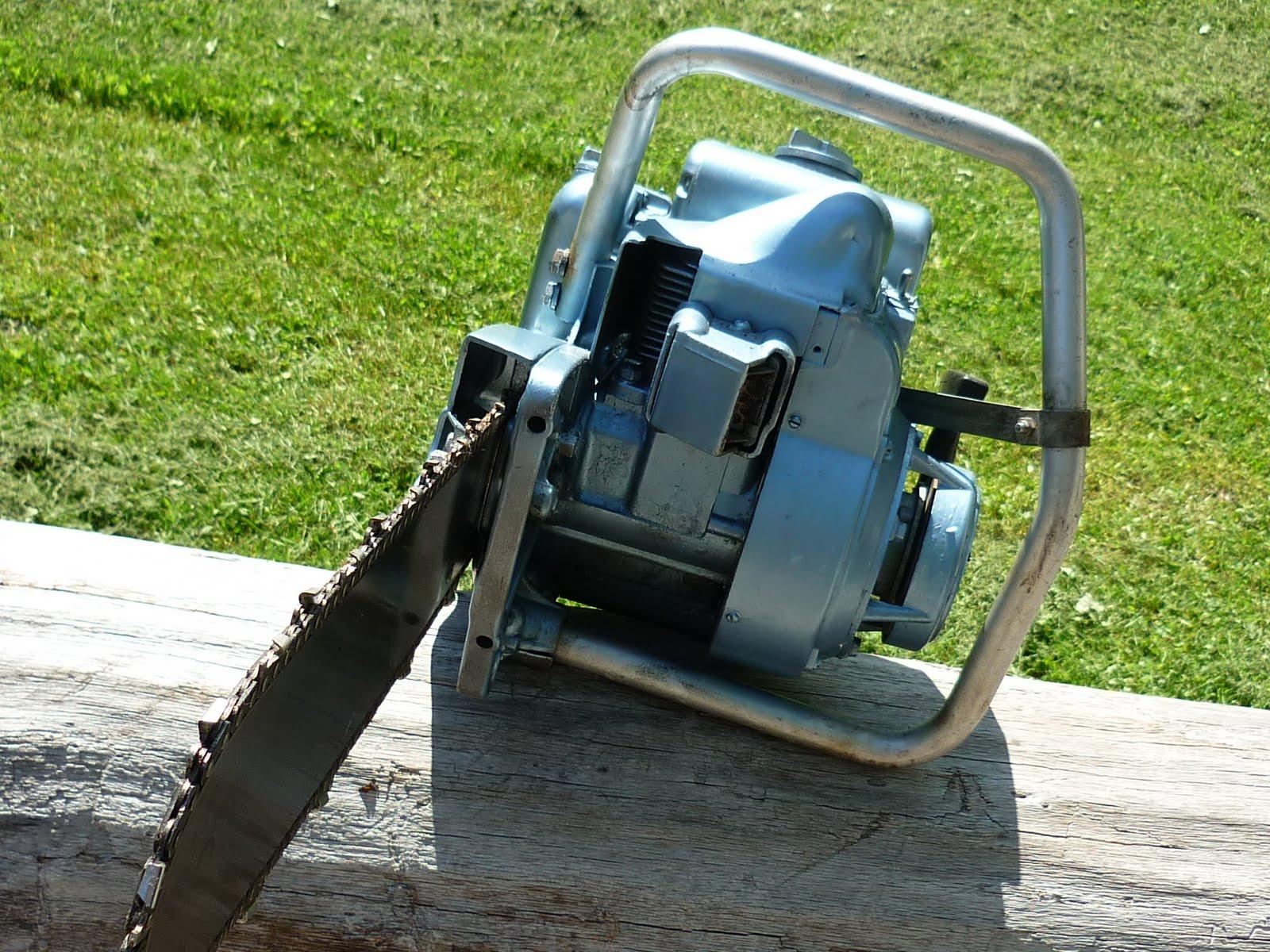 Please vintage poulan chainsaw