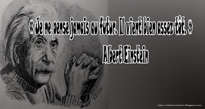 Citation Einstein de future