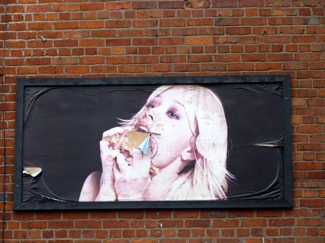 Hamburguesa , arte en Manchester